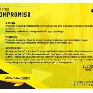 NUESTRO COMPROMISO - PVIAJES